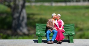 old couple good relationship